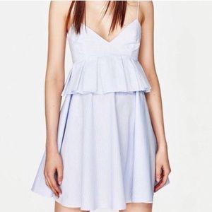 Zara Peplum Dress